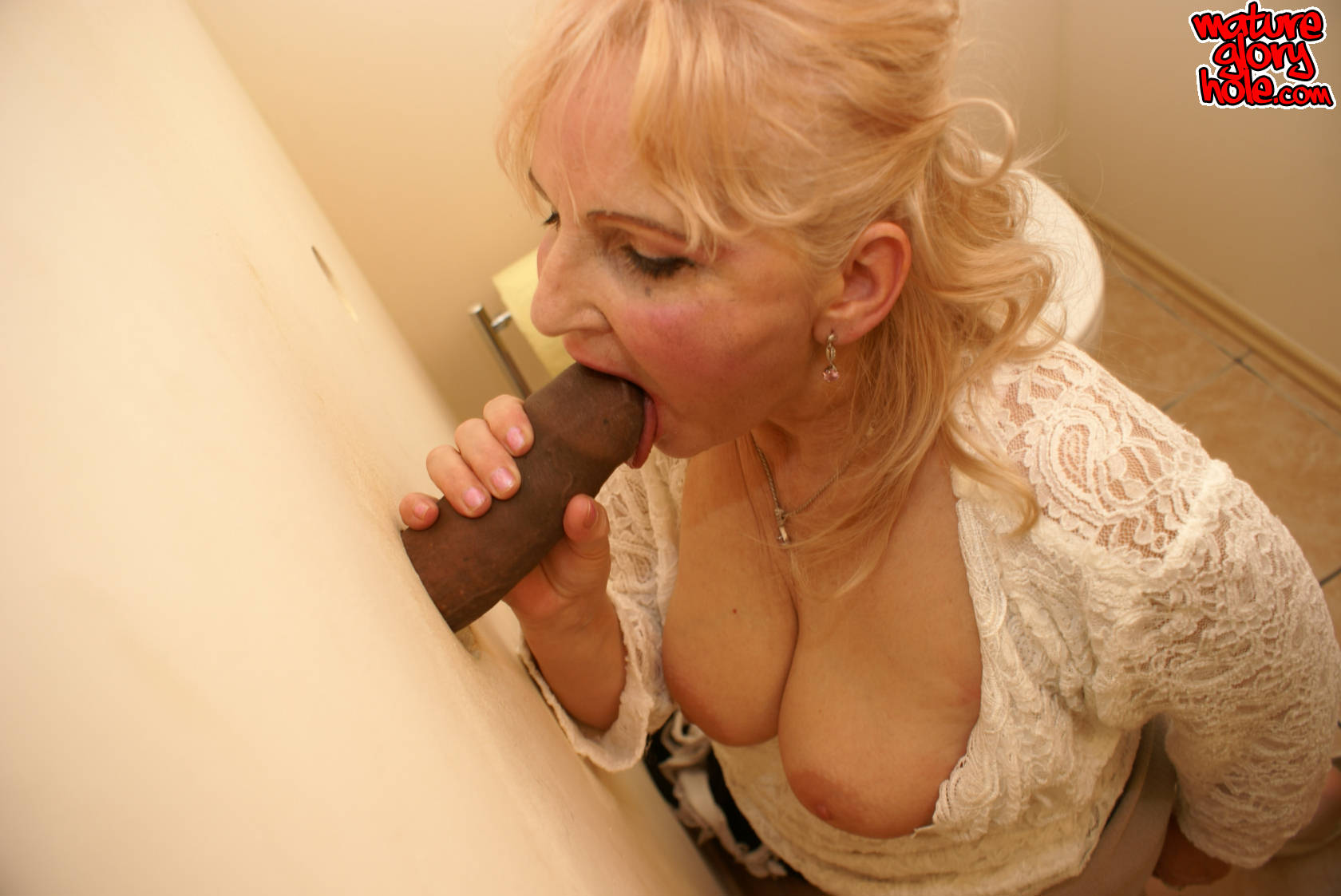 Mature glory holes