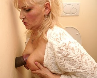 Hot and steamy mature gloryhole sex