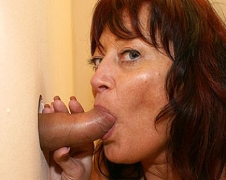 Horny mature chick loves big cock