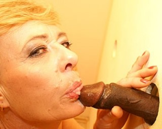 Mature lady sucking and fucking