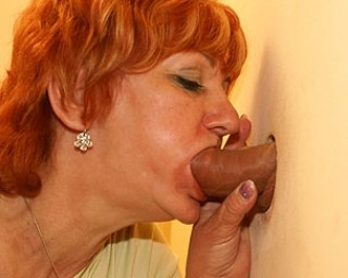 Mature redhead hungry for cock