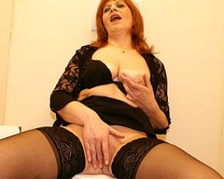 Omaseks This red mature slut loves that black cock